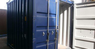 Размеры 10 футовых контейнеров